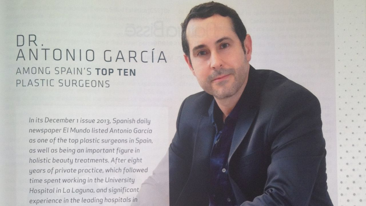 The Canarian master of beauty in The Show Room magazine